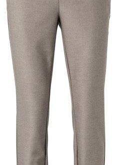 Soft stretch tweed trousers
