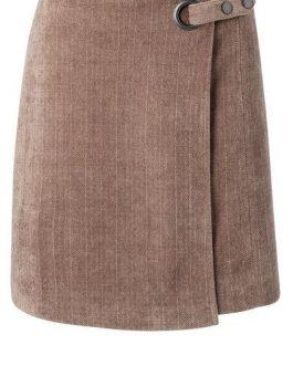 Structured mini skirt