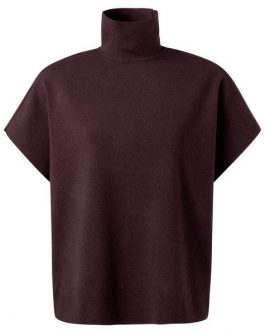 Sweater with short sleeves