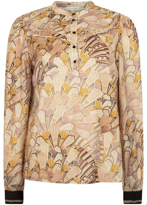 Tramontana art deco blouse