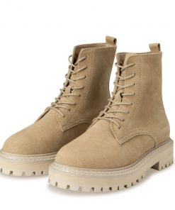 Suede boot with bulky sole – OAT, 40