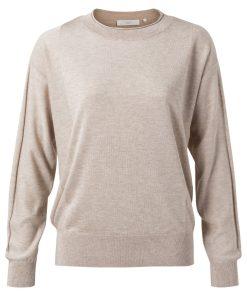 Silk blend sweater