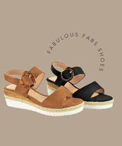 Fabs Suede Sandals
