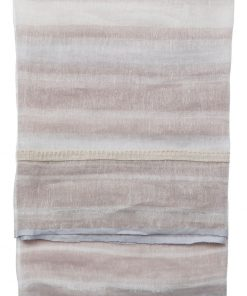 Linen scarf with lurex