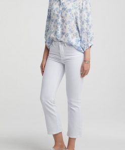 Lyocell shirt with 3/4 sleeves