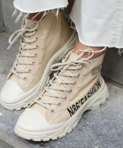 Babouche Canvas Sneakers