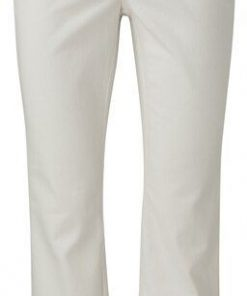 Kick-flare chino in 7/8 length