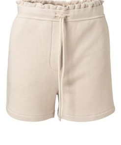 Jersey short with ruffle