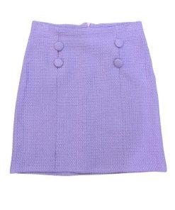 Basic-Life Button Skirt