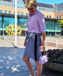 Zoso Printed Travel Skirt