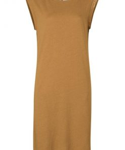 Jersey dress with back detail