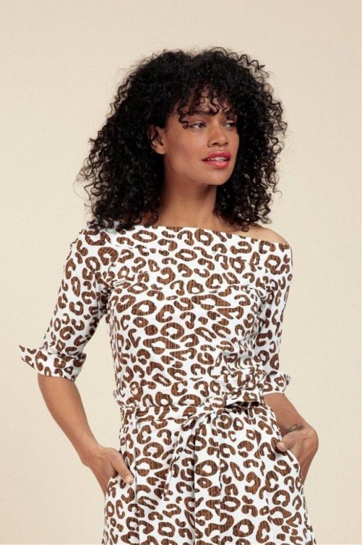 Studio Anneloes Dolly Leopard Top