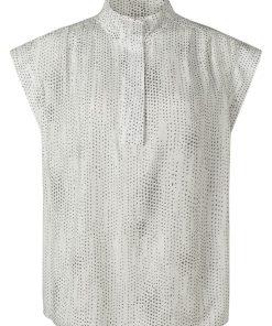 YAYA: Printed Sleeveless Top