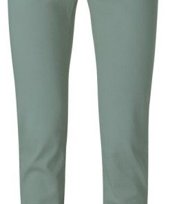Cotton straight colored jeans
