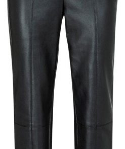 Faux leather tregging