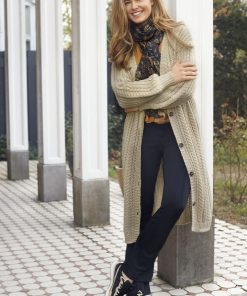 Tramontana Mohair Cable Vest