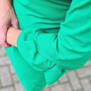 Disenjo Summer Green Dress